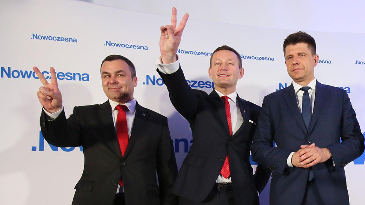 Nowoczesna nie będzie brała udziału w Komitecie Narodowych Obchodów Setnej Rocznicy Odzyskania Niepodległości Rzeczypospolitej Polskiej(fot. arch.PAP/Leszek Szymański)