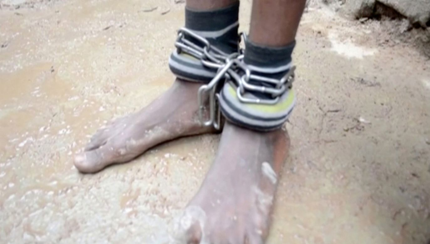 Uczniów torturowano, a niektórzy rodzice płacili czesne myśląc, że ich dzieci są edukowane (fot. Reuters TV)