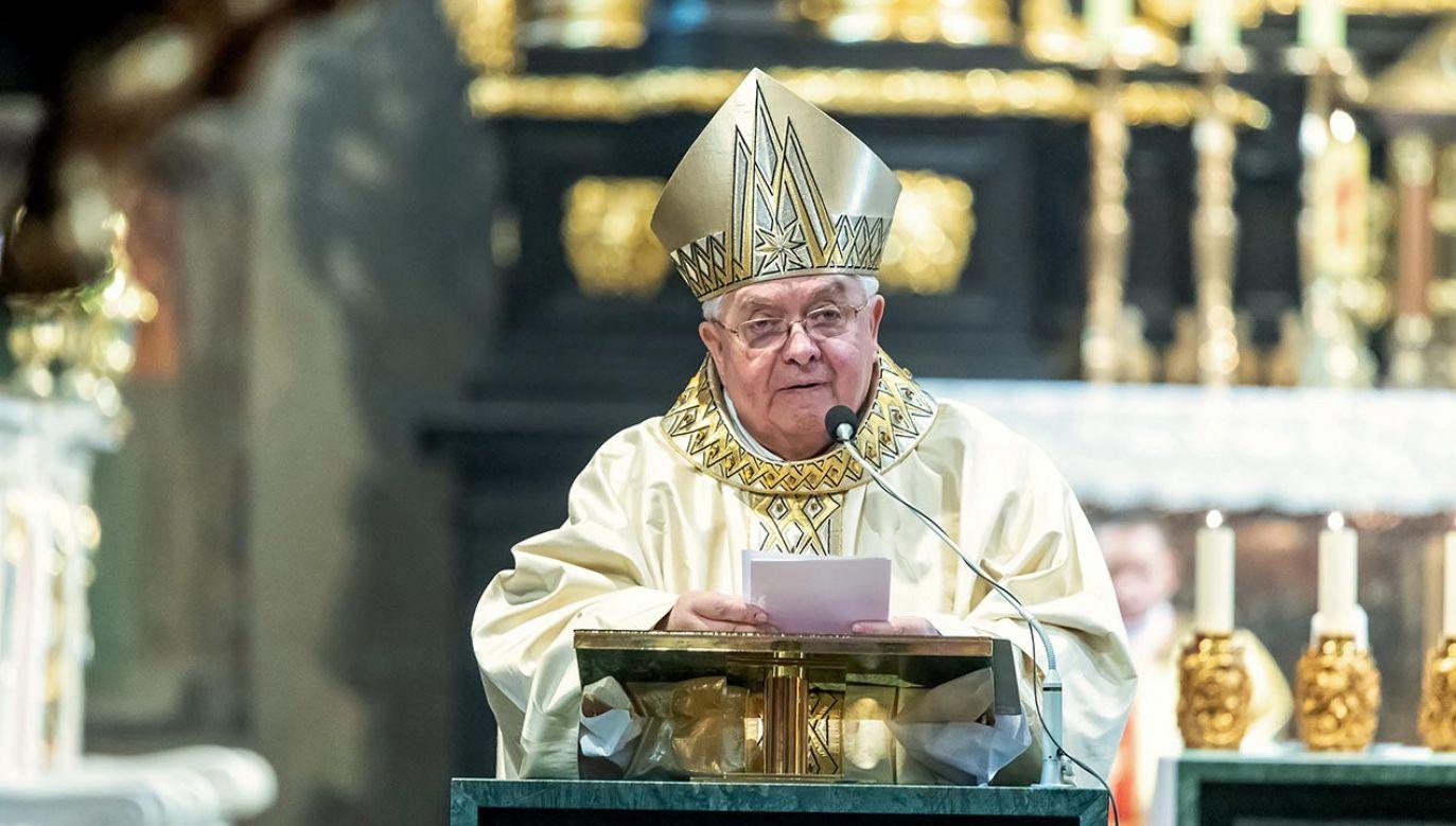 Biskup Jan Tyrawa (fot. PAP/Tytus Żmijewski)