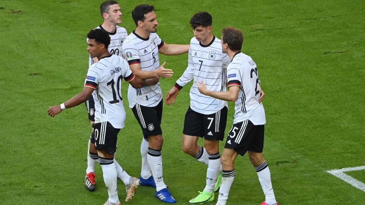 Niemcy zaprezentowali się świetnie w meczu z Portugalią (fot. PAP/EPA)