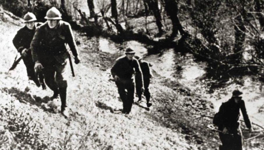 Płużański został ciężko ranny w bitwie pod Janowem Lubelskim we wrześniu 1939 roku (fot. CAW)