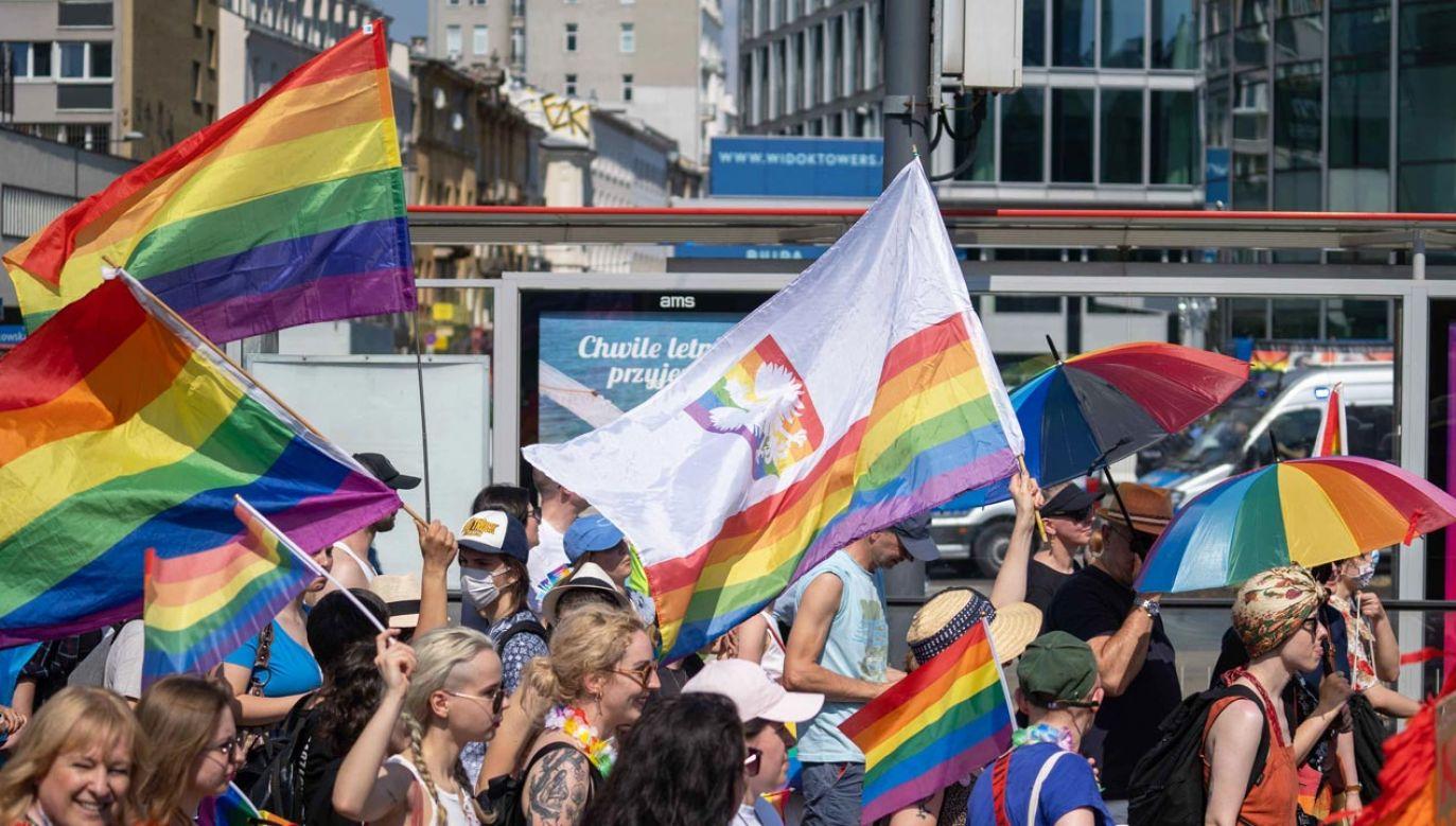 Parada Równości w Warszawie (fot. portal tvp.info/Radosław Poszwiński)