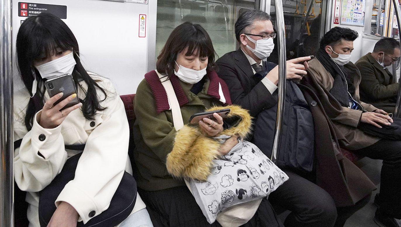 Japończycy twierdzą, że koronawirus nie zagrozi igrzyskom w Tokio (fot. PAP/ EPA/FRANCK ROBICHON)