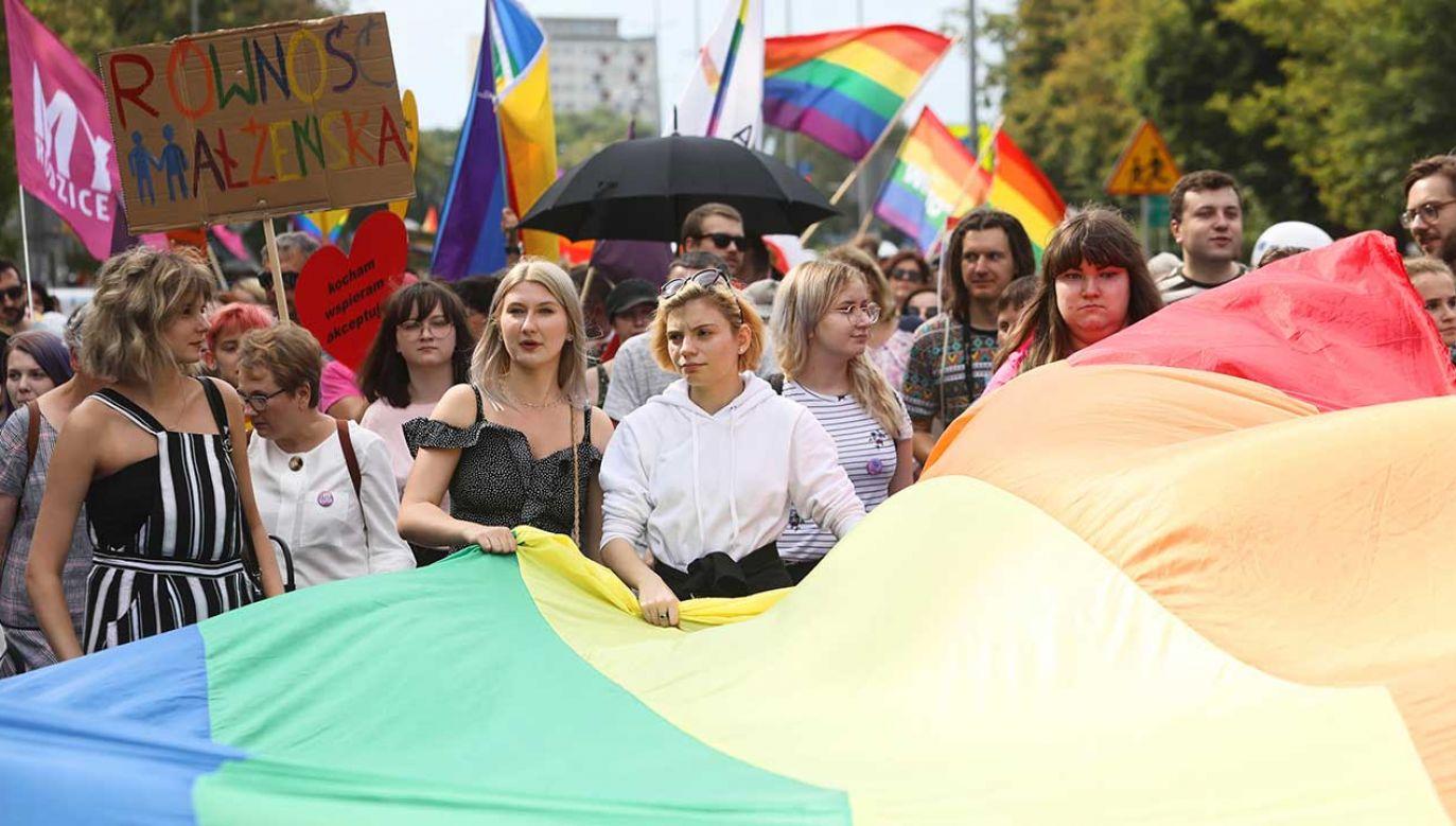 Zdaniem rzecznika PSL Marsz Równości miał prawo przejść ulicami Białegostoku (fot. PAP/Artur Reszko)