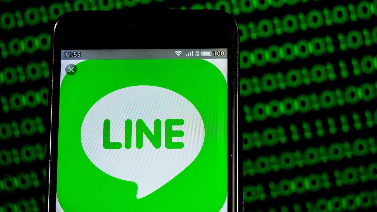 Cyberatak na użytkowników aplikacji LINE na Tajwanie (fot. Igor Golovniov/SOPA Images/LightRocket/Getty Images)
