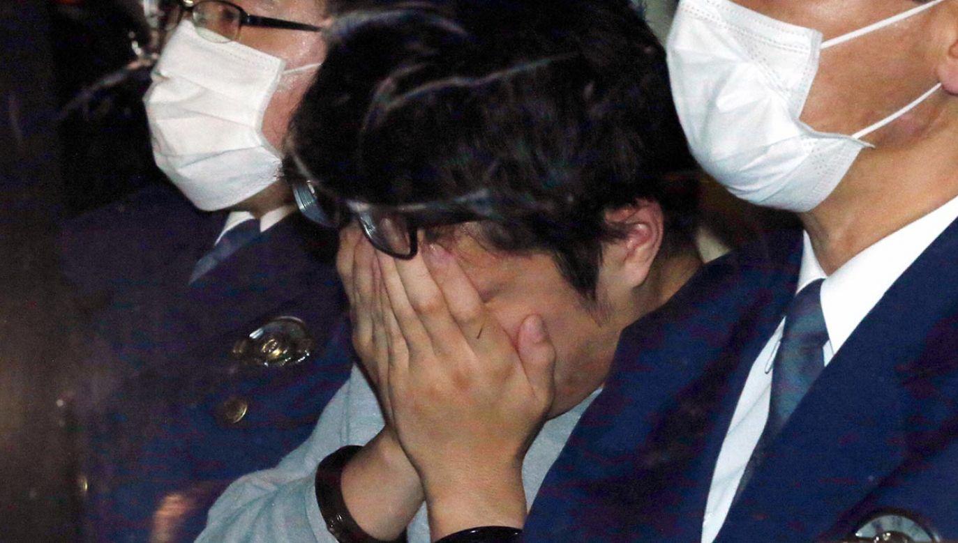 W czasie dochodzenia przyznał, że zgwałcił niektóre swoje ofiary przed ich zabiciem (fot. The Asahi Shimbun via Getty Images)