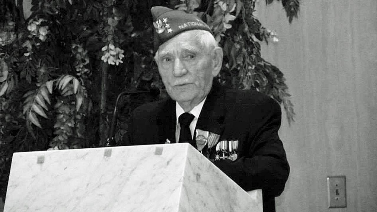 Wincenty Knapczyk przeszedł cały szlak bojowy z Armią Andersa (fot. Konsulat Generalny RP w Nowym Jorku)