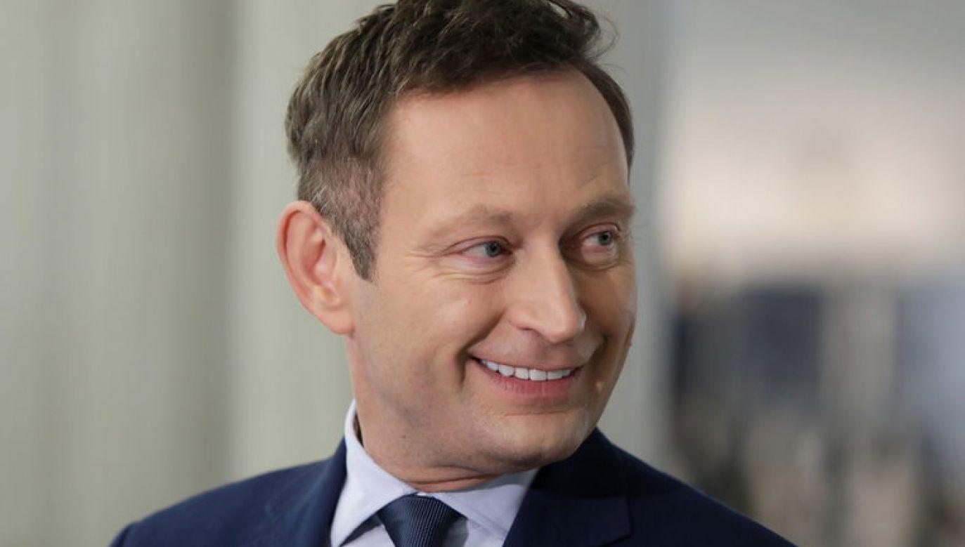 """""""Potrzebne będzie coś jak Trybunał Norymberski"""" – napisał na Twitterze wiceprezydent Warszawy Paweł Rabiej (fot. PAP / Tomasz Gzell)"""