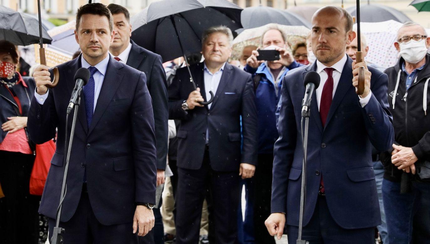 Większość posłów Koalicji Obywatelskiej nie pojawi się na zaprzysiężeniu prezydenta Andrzeja Dudy (fot. Filip Radwanski/SOPA Images/LightRocket via Getty Images)