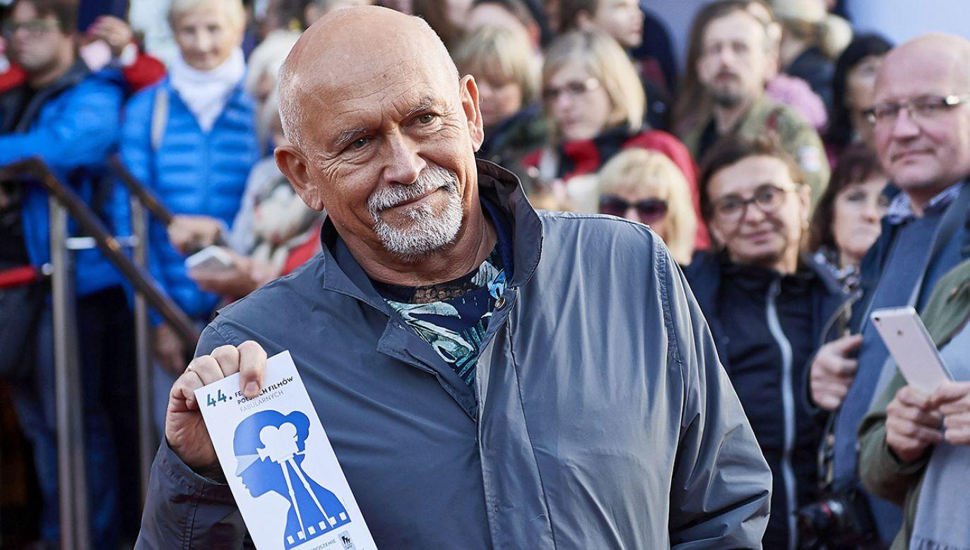 Wśród nominowanych był wybitny plakacista Andrzej Pągowski (fot. PAP/Adam Warżawa)