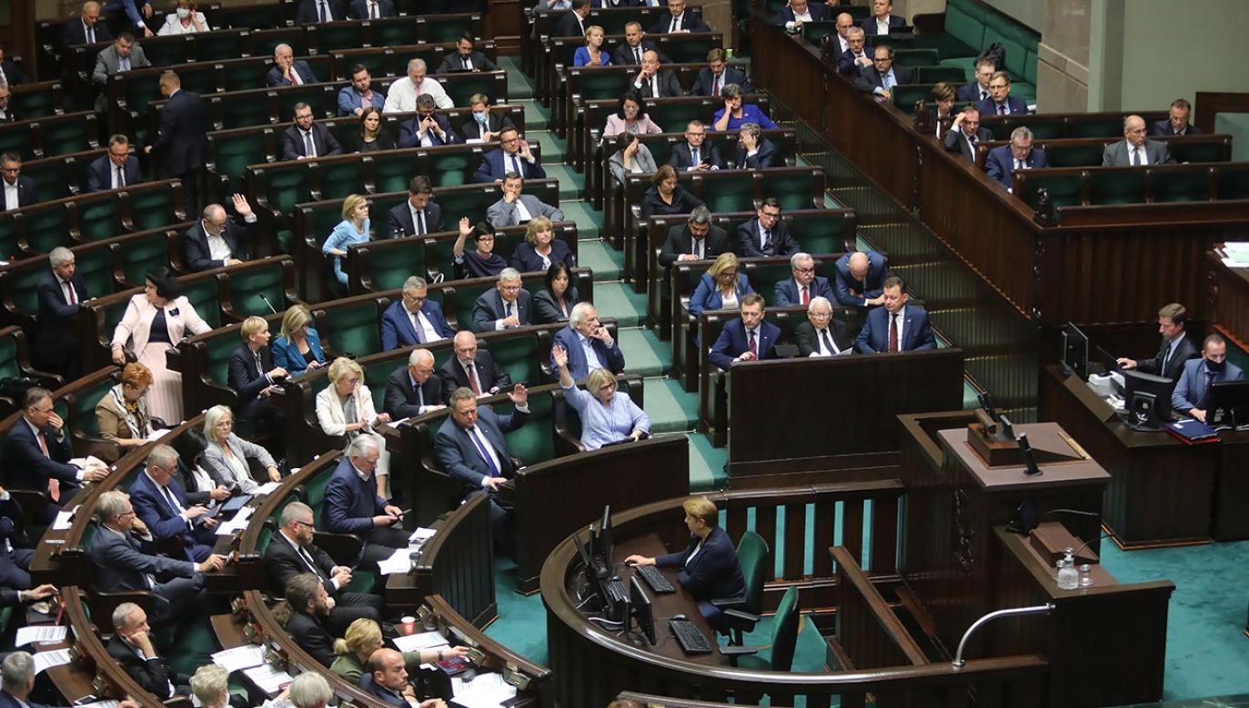Będą przyśpieszone wybory? (fot. PAP/Wojciech Olkuśnik)