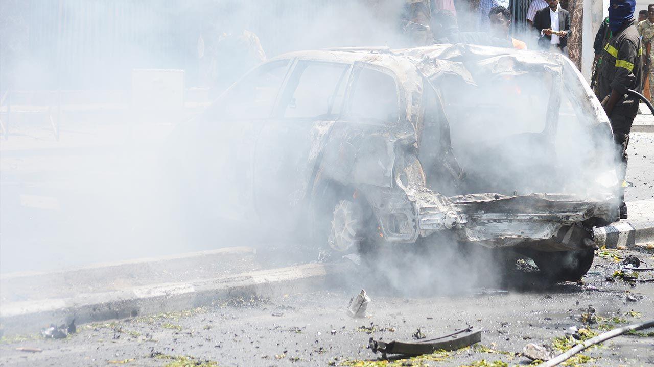 Na razie żadna z organizacji paramilitarnych nie przyznała się do ataku (fot. Tuuryare Adde/Anadolu Agency/Getty Images, zdjęcie ilustracyjne)