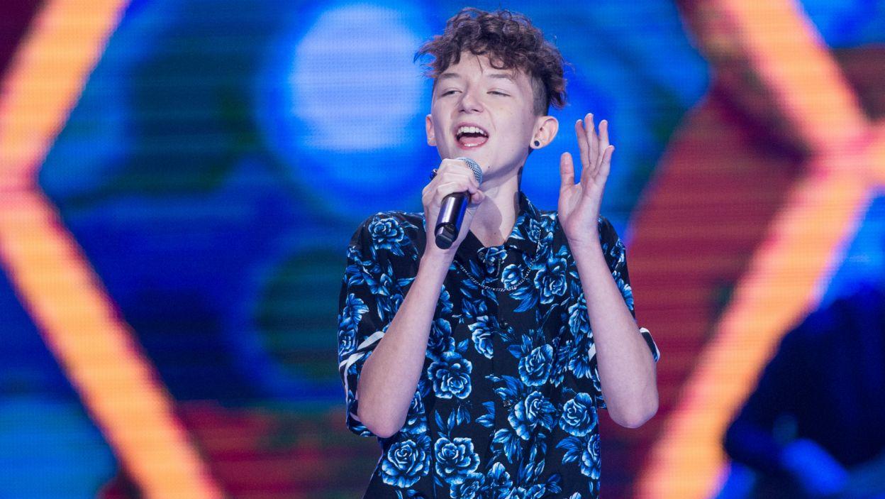 A jako ostatni na scenie pojawił się niezwykle utalentowany Marcin (fot. TVP)