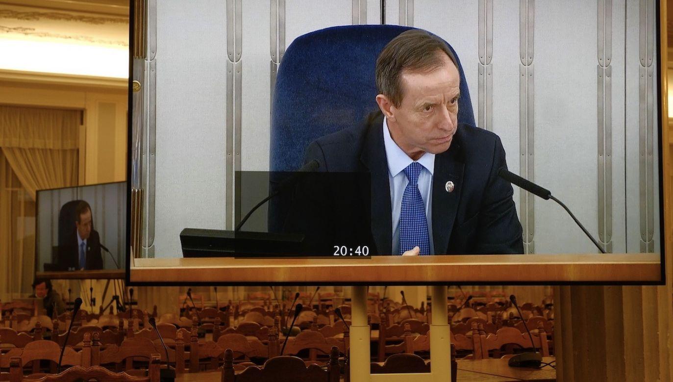 Marszałek Senatu Tomasz Grodzki ( (fot. PAP/Mateusz Marek)