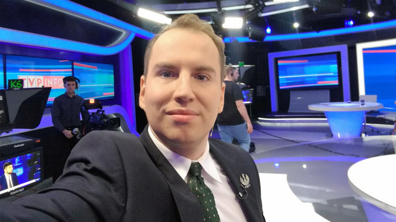 Pod koniec grudnia Adam Andruszkiewicz został wiceministrem cyfryzacji (fot. TT/Andruszkiewicz1)