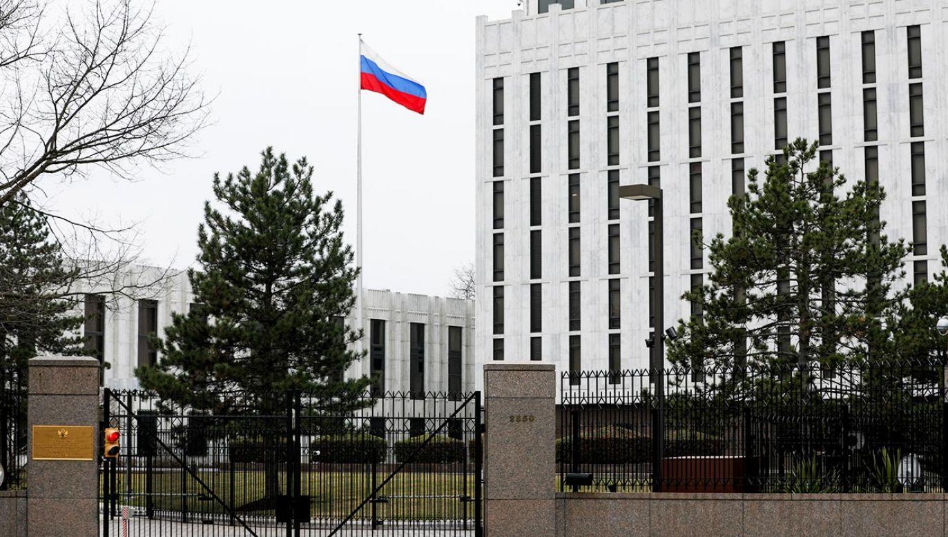 Rosyjscy dyplomaci muszą opuścić USA do 3 września (fot. Yasin Ozturk/Anadolu Agency via Getty Images)
