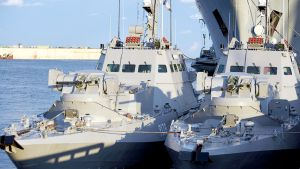NATO wzywa Rosję do zapewnienia dostępu do ukraińskich portów na Morzu Azowskim (fot. MARKIIAN LYSEIKO / Barcroft Media via Getty Images)