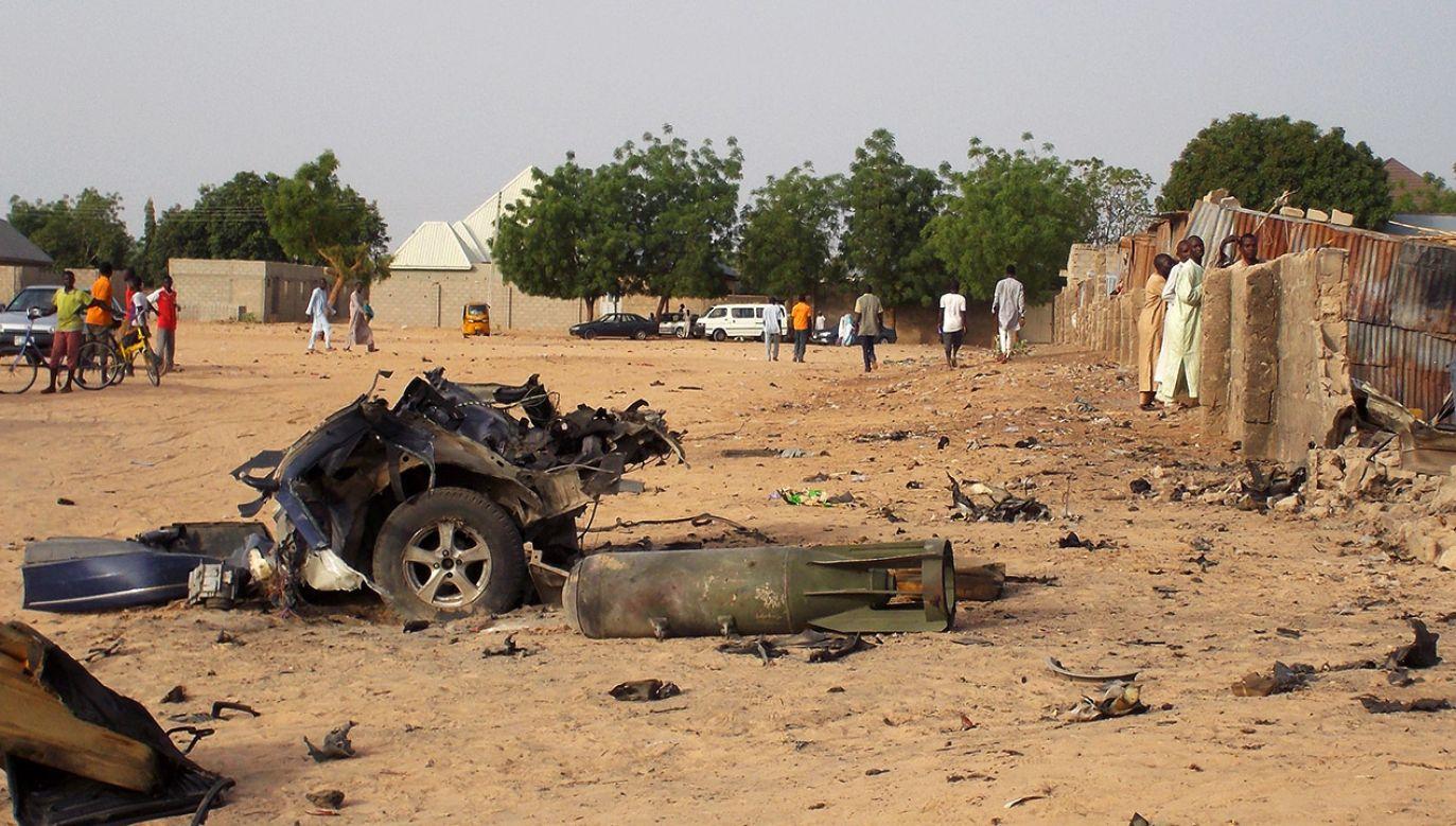 Wciąż nieznany jest bilans ofiar (fot. REUTERS/Ola Lanre, zdjęcie ilustracyjne)