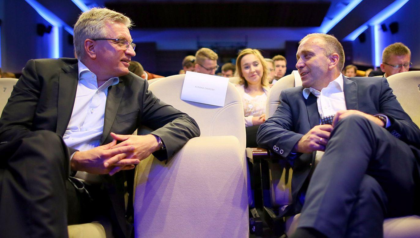 Na sejmowych korytarzach słychać, że to Grzegorz Schetyna mógł namówić Jacka Jaśkowiaka do startu w prawyborach prezydenckich PO (fot. arch.PAP/Tomasz Wojtasik)
