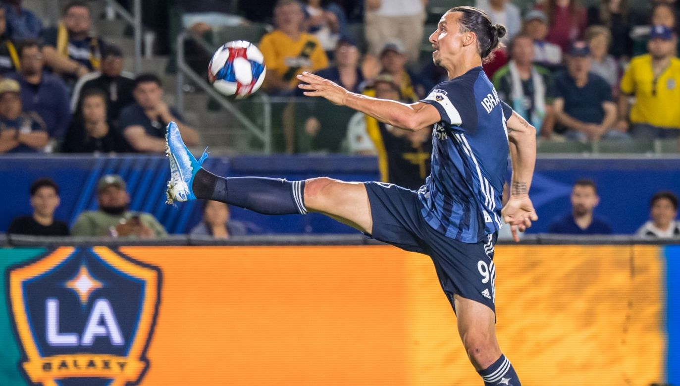 Zlatan Ibrahimović (fot. Getty)