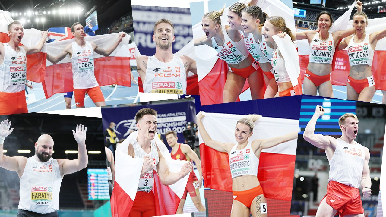 Polacy skończyli Halowe Mistrzostwa Europy z dziesięcioma medalami (fot. PAP)