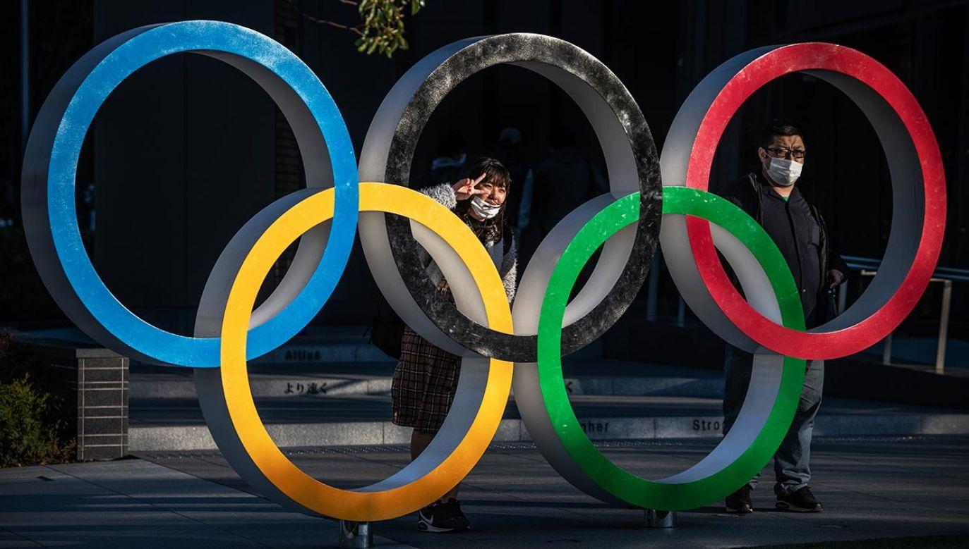 Igrzyska Olimpijskie w Tokie zostaną zainaugurowane 23 lipca (fot. Carl Court/Getty Images)