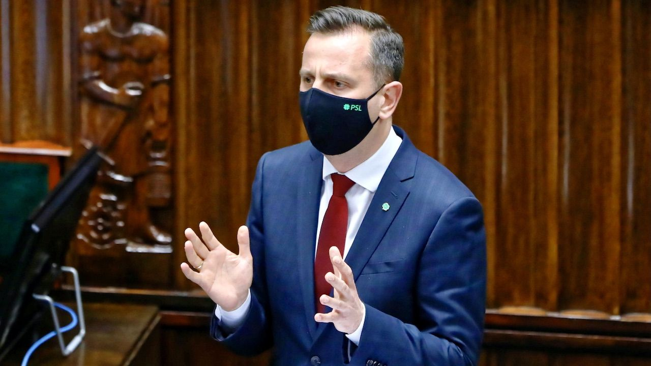 Z chęcią poparłabym Władka Kosiniaka-Kamysza na premiera. Naprawdę – oświadczył Gawkowski (fot. PAP/Rafał Guz)