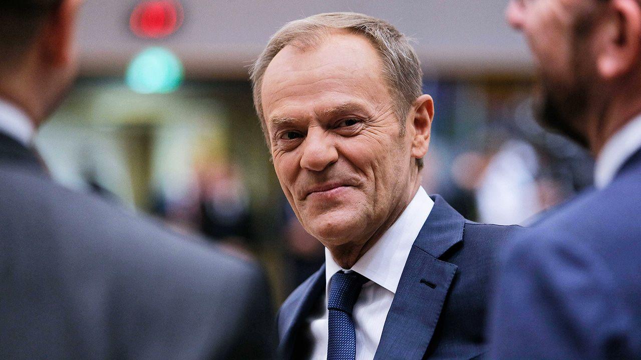 Wysyłam gratulacje, kiedy ktoś jest desygnowany na premiera – tłumaczył Tusk (fot. arch. PAP/Leszek Szymański)