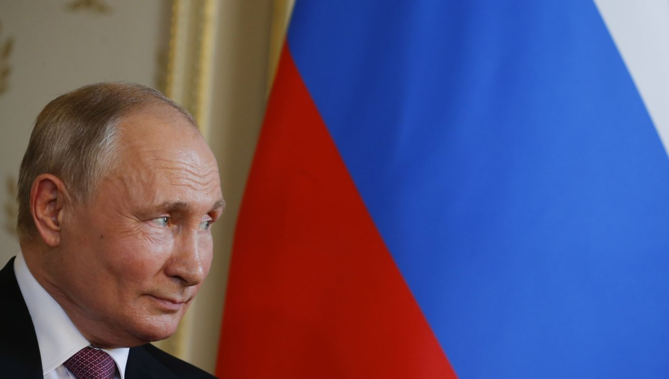 Prezydent Rosji Władimir Putin (fot. PAP/EPA)