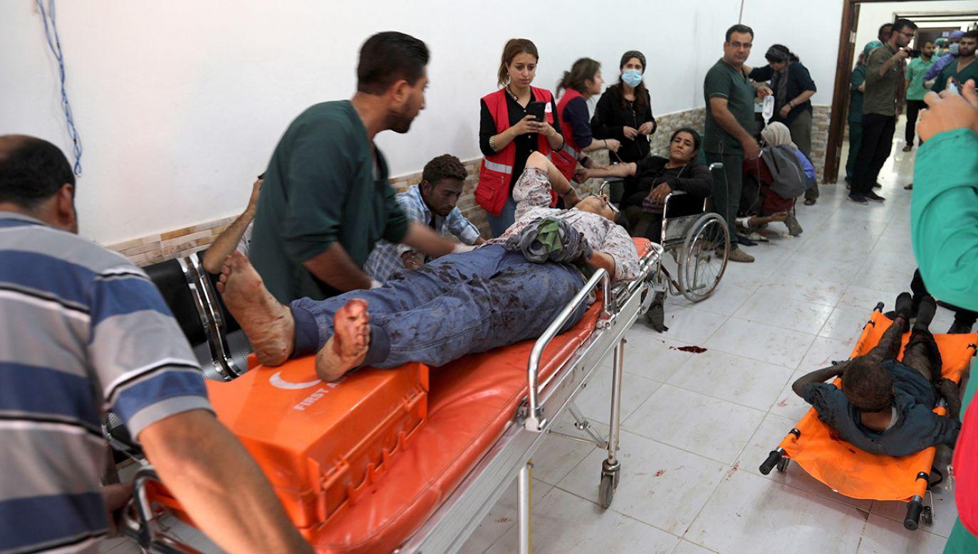 Sfilmowane egzekucje miały miejsce w sobotę (fot. PAP/EPA/STRINGER)