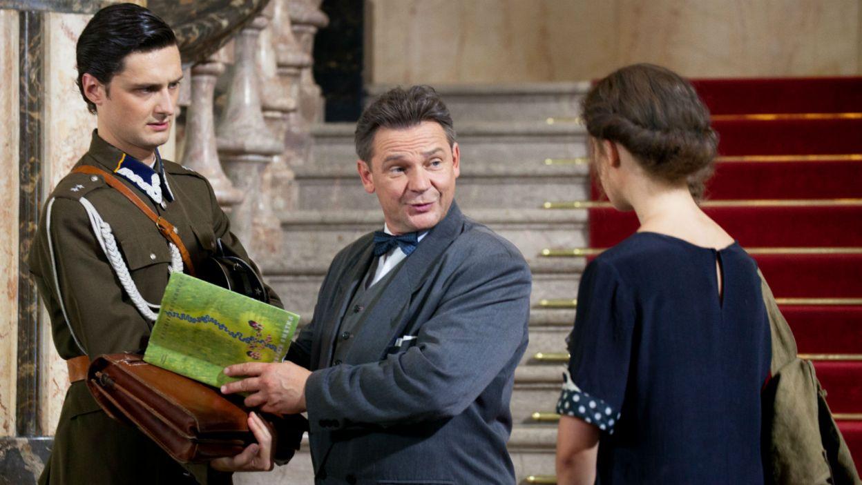 Filipa Kosiora zobaczymy jako Porucznika, adiutanta premiera (fot. Mirosława Łukaszek)