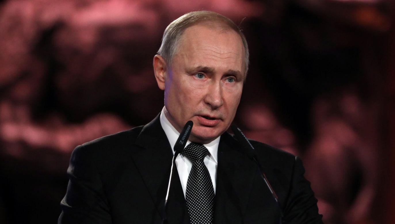 Zdaniem wiceministra aktywów państwowych, dotychczasowa narracja Kremla poniosła porażkę (fot. PAP/EPA/ABIR SULTAN / POOL)