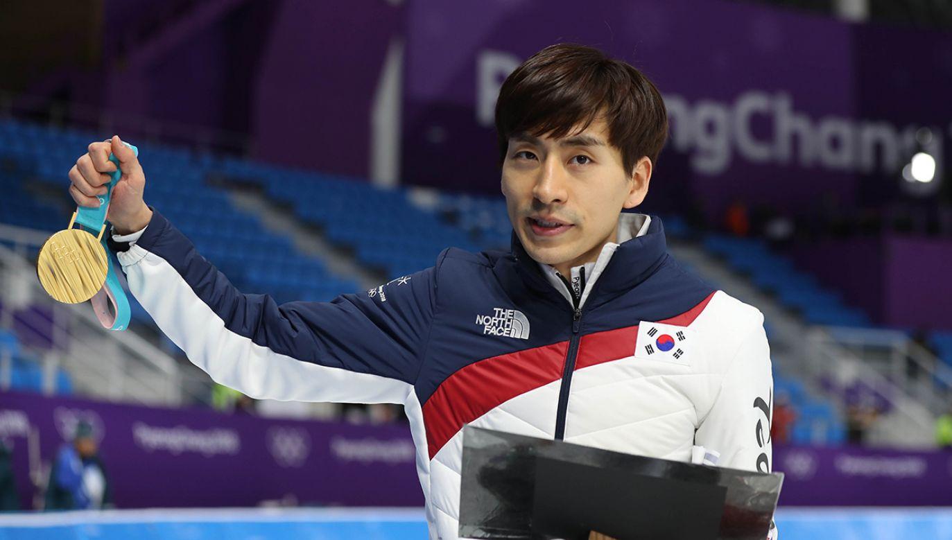 Seung-Hoon Lee to jeden z najbardziej rozpoznawalnych sportowców w Korei Południowej (fot. REUTERS/Lucy Nicholson)