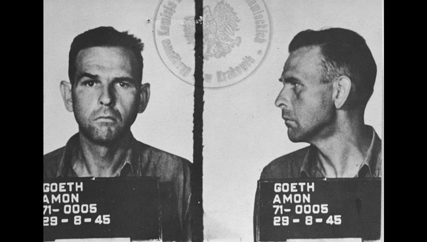 Austriacki esesman Amon Göth był sądzony w Krakowie (fot. pl.wikipedia.org)