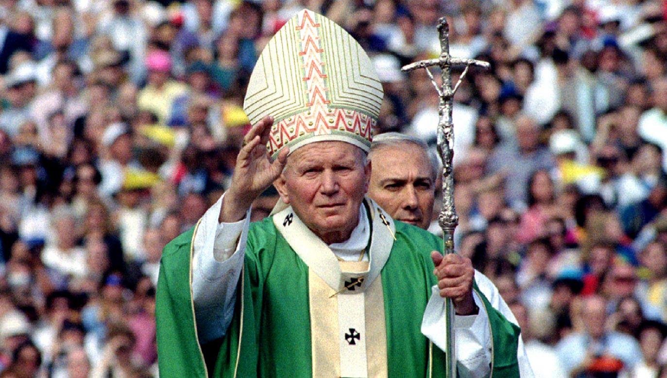 Św. Jan Paweł II (fot. REUTERS/Luciano Mellace)