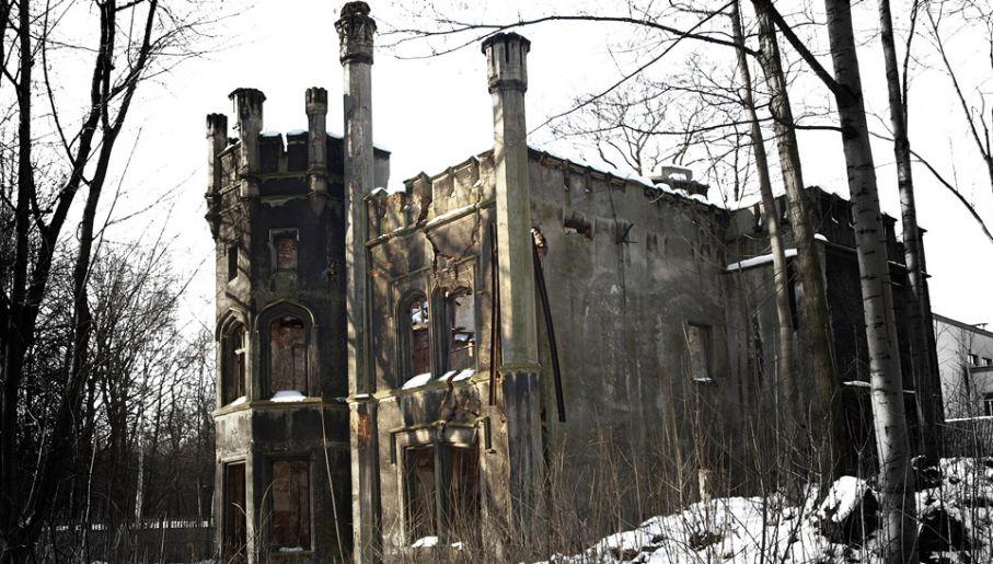 Sowieci rozgrabili i zniszczyli także pałac w Miechowicach (fot. Wiki/Christophorus ex Silesia)