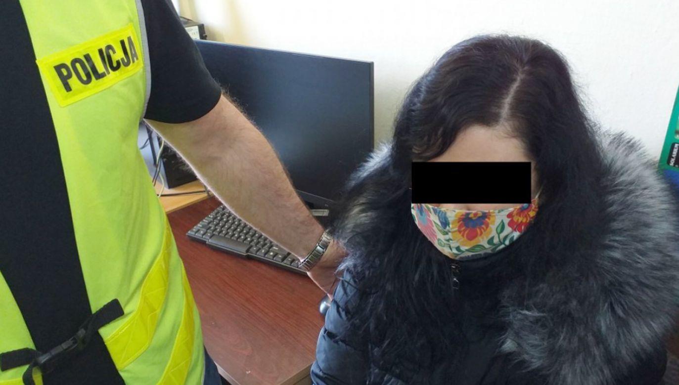 34-letnia kobieta miała podpalić kościół (fot. Policja)