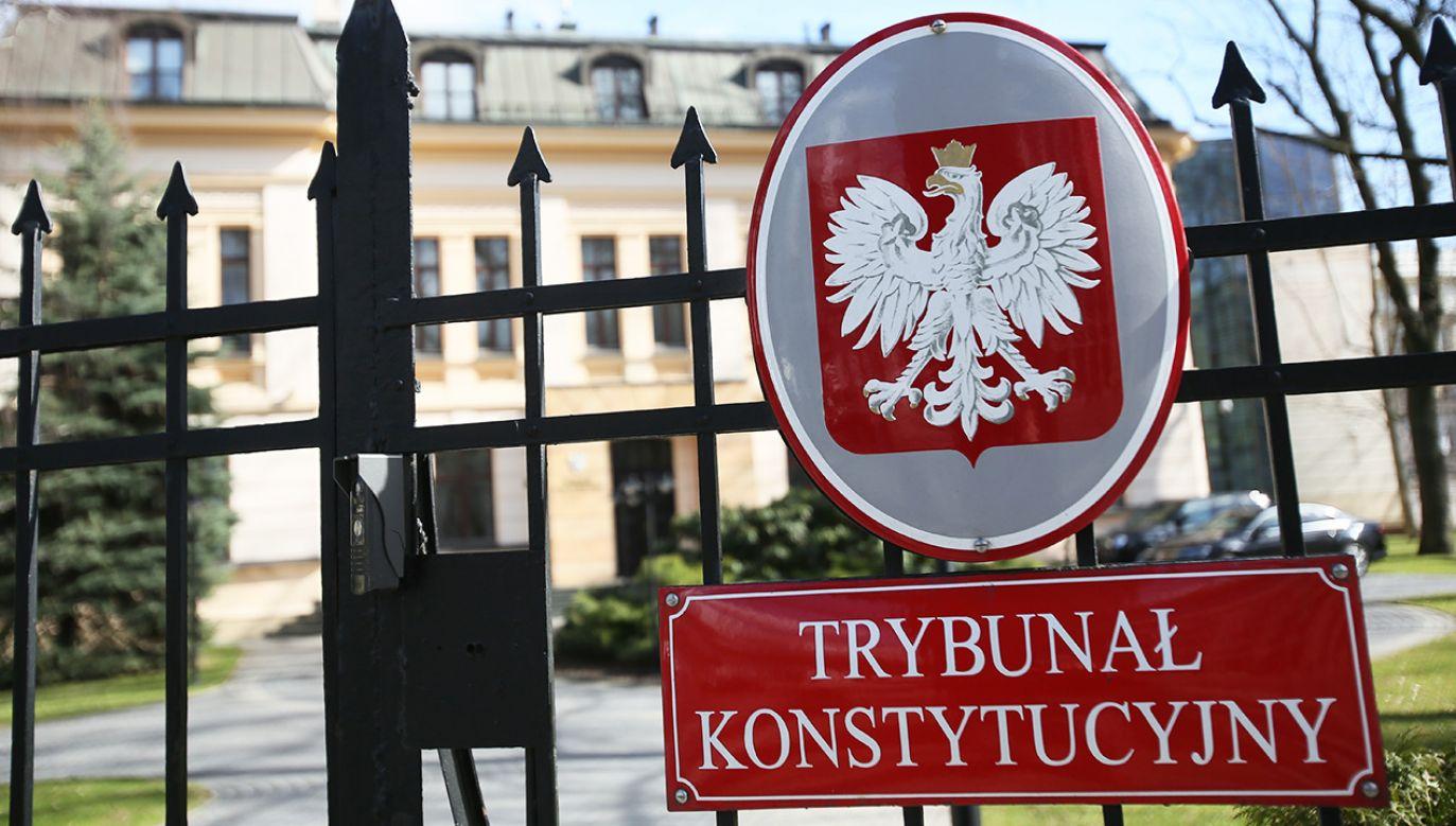 Sprawa z 2017 r. dotyczyła ułaskawienia m.in. Mariusza Kamińskiego  (fot. arch. PAP/Leszek Szymański)