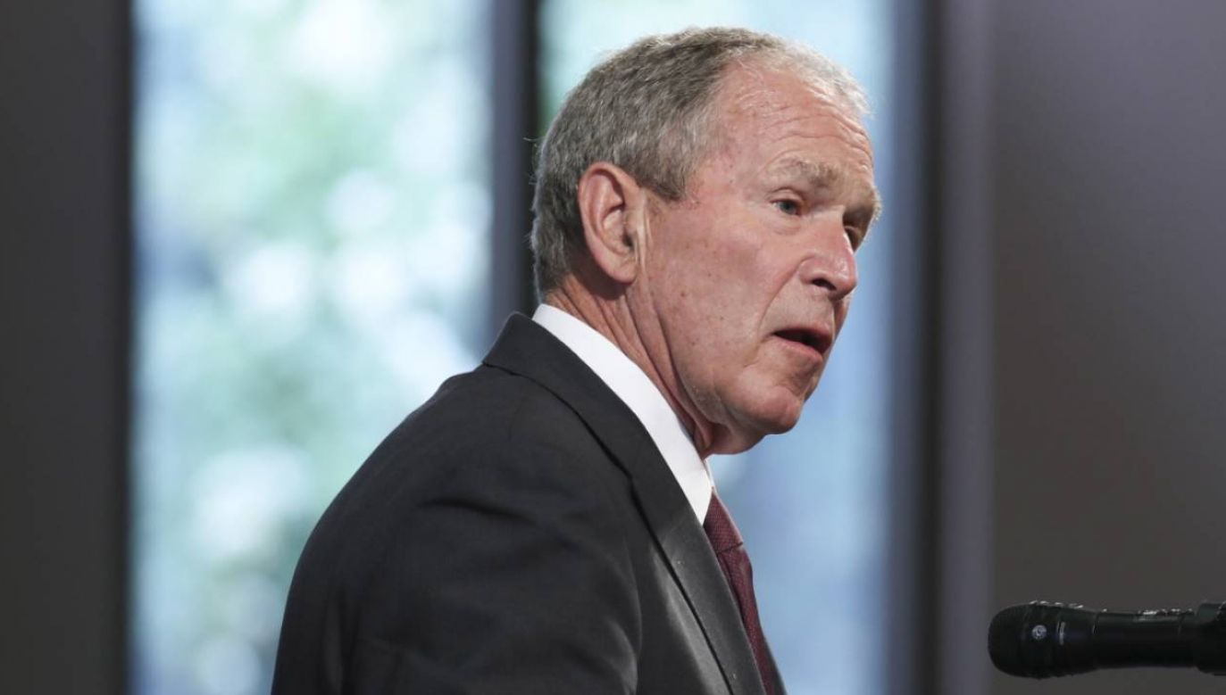 Były prezydent USA George W. Bush  (fot. PAP/EPA/ALYSSA POINTER)