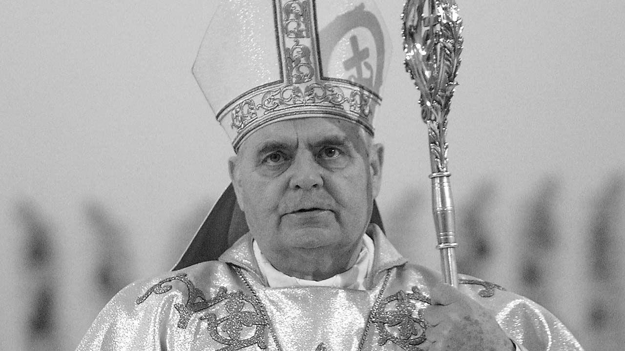 Zmarł bp Marian Duś (fot. PAP/Paweł Kula)