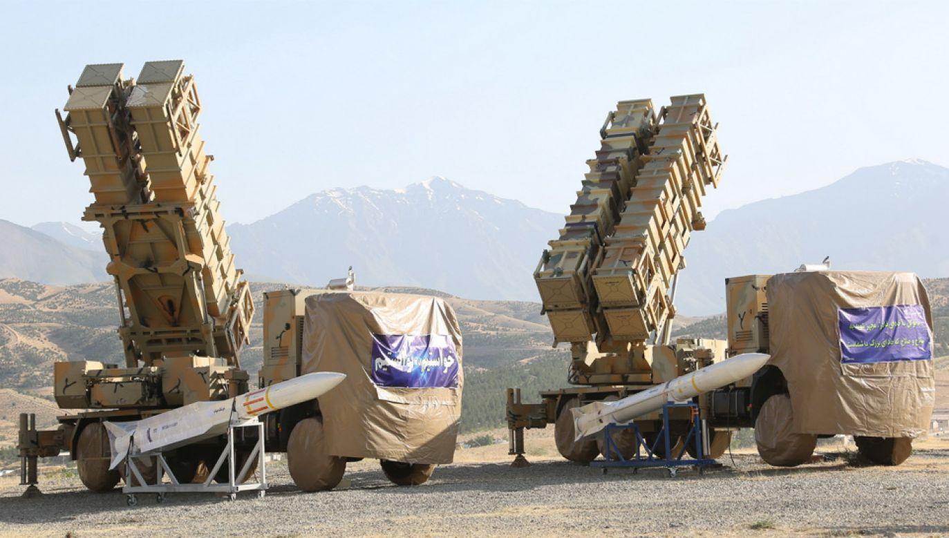 Iran rozwija program rakietowy (fot. PAP/EPA/HO HANDOUT)