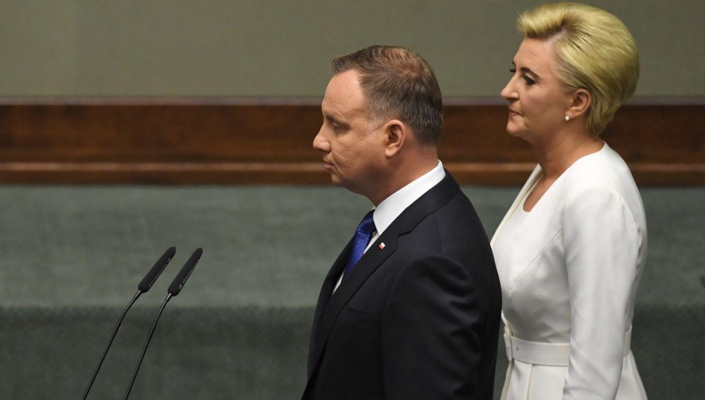 Po zaprzysiężeniu Andrzej Duda wygłosi orędzie przed Zgromadzeniem Narodowym (fot. PAP/R.Pietruszka