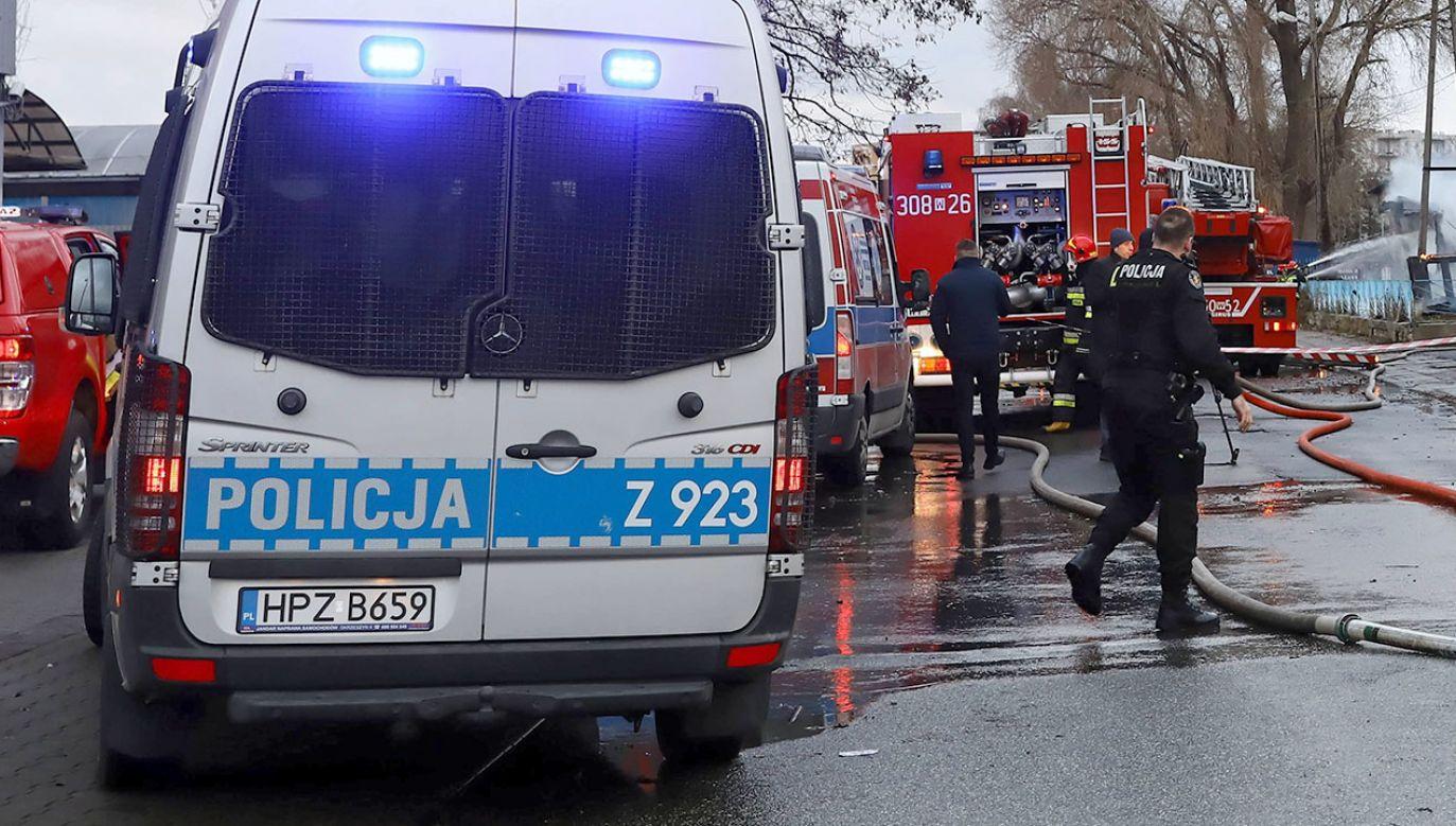 Do pożaru prawdopodobnie doprowadził sam poszkodowany (fot. arch.PAP/Rafał Guz, zdjęcie ilustracyjne)
