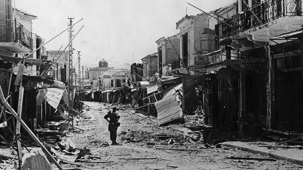 Heraklion wkrótce po zdobyciu przez wojska niemieckie (fot. ullstein bild/ullstein bild via Getty Images)