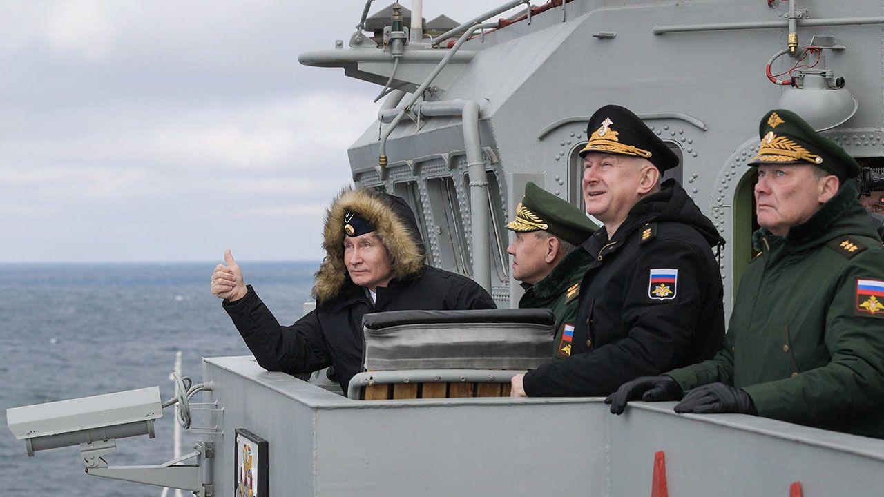 Rosyjski prezydent stwierdził, że Moskwa nie ma nic wspólnego z najemnikami służącymi na Bliskim Wschodzie i w Afryce fot. PAP/EPA/ALEXEI DRUZHININ / SPUTNIK / KREMLIN POOL)