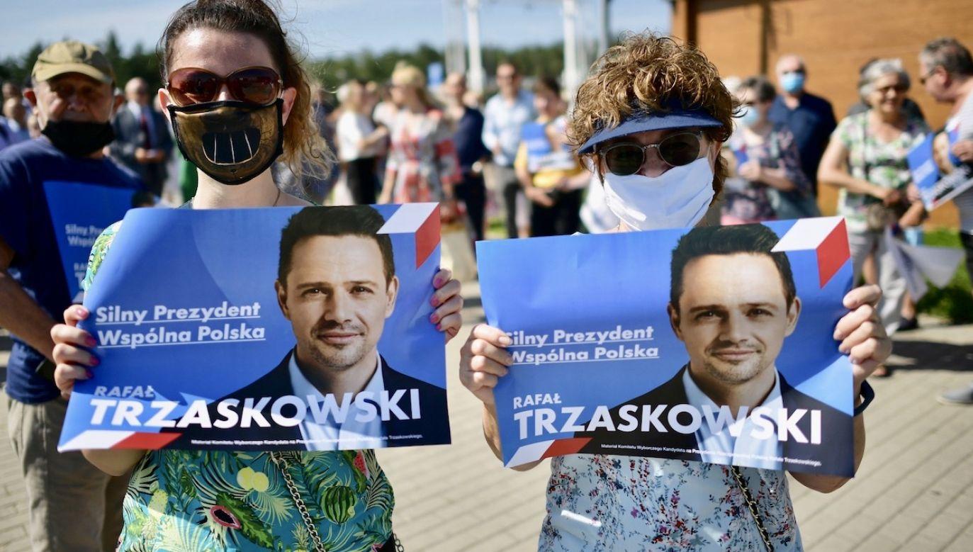 Program Rafała Trzaskowskiego to utorowanie PO drogi do ponownego przejęcia władzy w Polsce (fot. PAP/Marcin Obara)