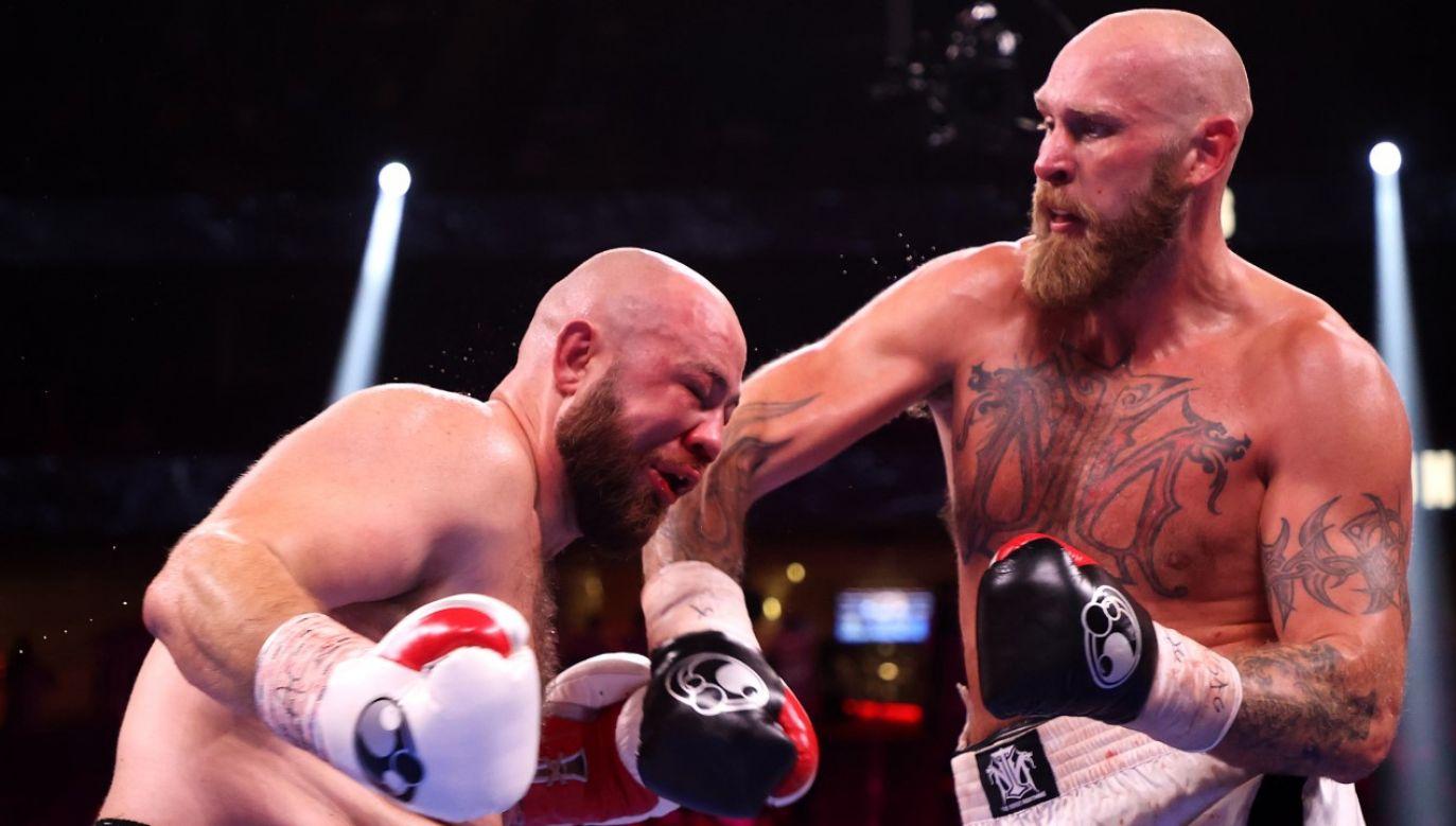 Robert Helenius pokonał Adama Kownackiego w walce w Las Vegas(fot. Al Bello/Getty Images)