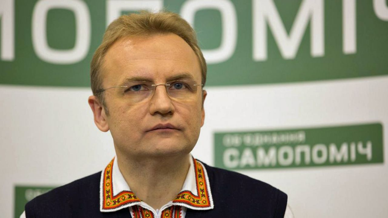 Sadowy na razie unika deklaracji na temat swoich przyszłych planów politycznych (fot. Samopomich.ua)