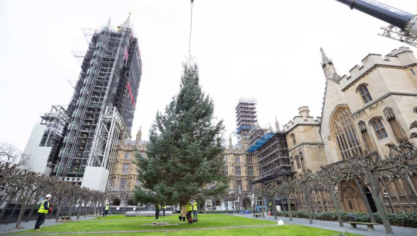Brytyjski rząd planuje poluzowanie restrykcji na okres świąteczny od 22 do 28 grudnia (fot. PAP/EPA/ROGER HARRIS / UK PARLIAMENT)