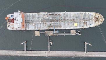 W Porcie Gdynia przeładowano w 2019 r. 1862,7 tys. ton paliw płynnych (fot. T.Urbaniak/Port Gdynia)